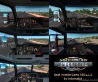 Real Interior Cams V1.1 for American Truck Simulator