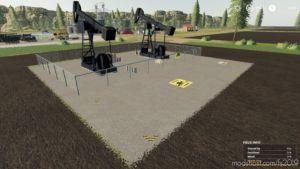 Crude OIL Derrick for Farming Simulator 2019
