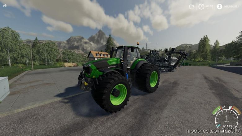 Eagle355Th Deutz Fahr for Farming Simulator 2019
