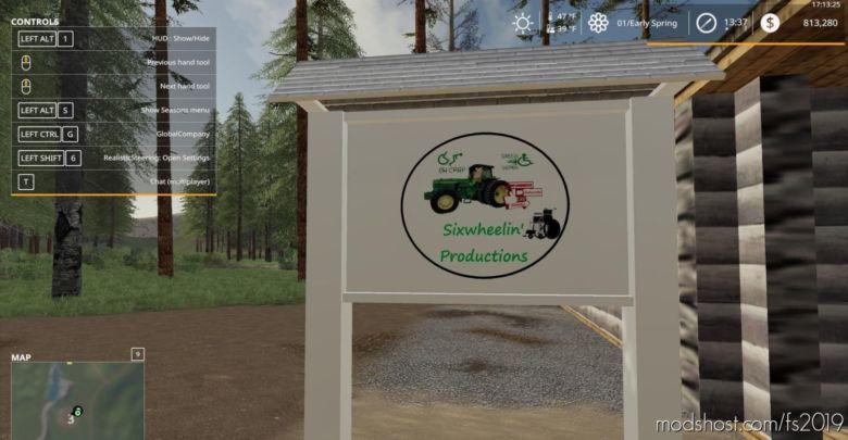Dead Man's Ridge for Farming Simulator 2019