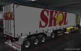 Skin Reboque Sider Facchini By Wpneves Skol [1.36] for Euro Truck Simulator 2