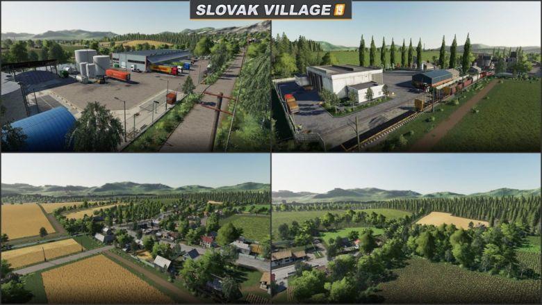 SLOVAK VILLAGE for Farming Simulator 2019