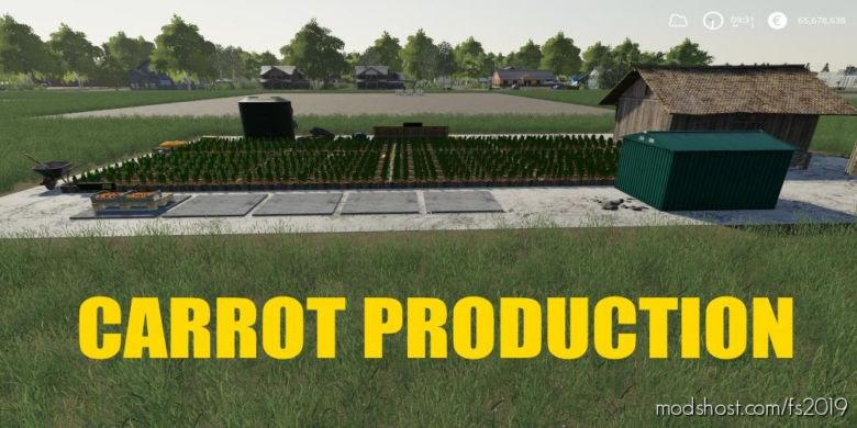 Carrot Production for Farming Simulator 2019