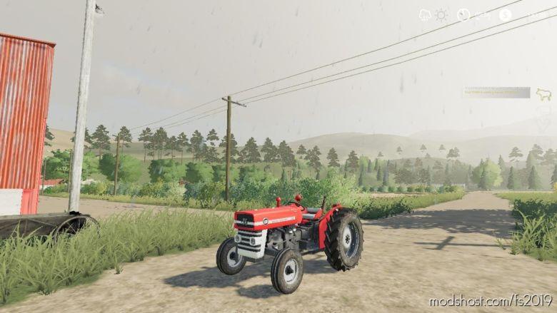 Massey Ferguson 135 WIP for Farming Simulator 2019