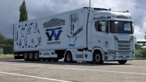 Transwhite Transportes LDA Skinpack for Euro Truck Simulator 2