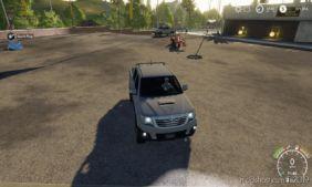 Toyota Hilux for Farming Simulator 2019