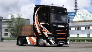Günter Kolbitsch-Style Skin For Scania S Next-Gen for Euro Truck Simulator 2