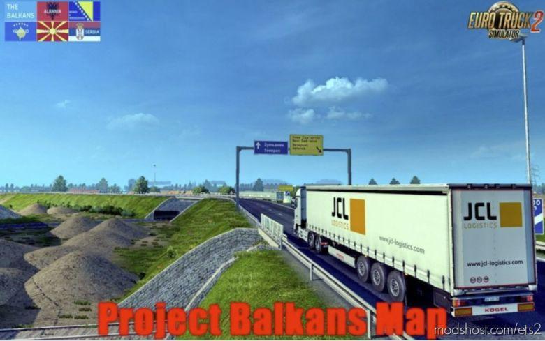 Download Promods Addon 2 43 Project Balkans V4 0 1 36 X For