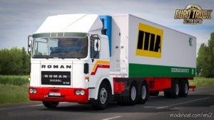 Roman Diesel -FIX- + Trailer [1.36.X] for Euro Truck Simulator 2