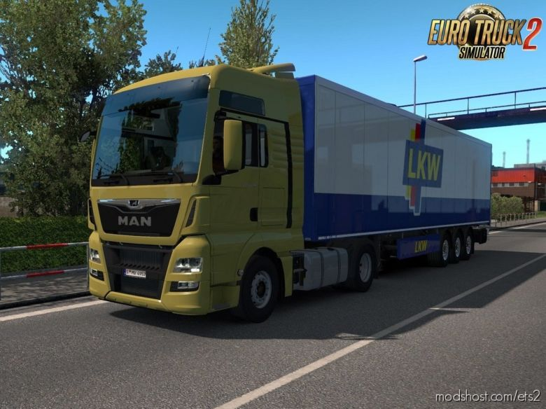 MAN TGX Euro 6 V2.2 -Fixed- By Madster (1.36.X) for Euro Truck Simulator 2