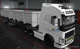 Skin Volvo FH16 2012 Cooperalfa [1.36] for Euro Truck Simulator 2
