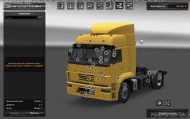 Kamaz 5360 / 53602 / 5480 / 6460-73 MTG V3.0 + Trailers + Addon [1.36.X] for Euro Truck Simulator 2