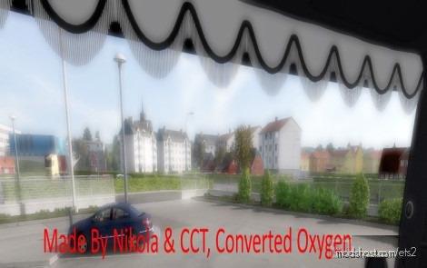 Scania Holland Style Curtain V2.0 for Euro Truck Simulator 2