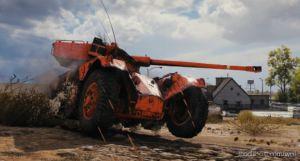 "Classic'S Panhard EBR 75/90 ""LA Voiture"" Reskin [1.7.1.1] for World of Tanks"