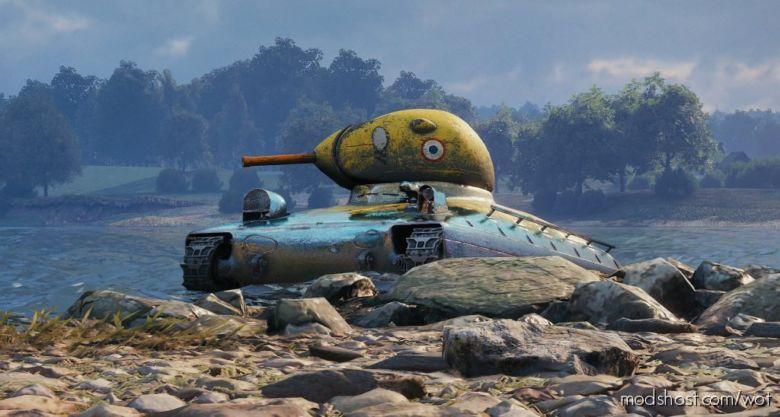 "Classic's AMX 40 ""LE Quack"" Reskin [1.7.1.1] for World of Tanks"