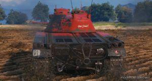 "Classic's Panzer 58 ""Hopp Schwiiz"" Skin (FOR Mutz / Schwarzpz. 58) [1.7.1.1] for World of Tanks"
