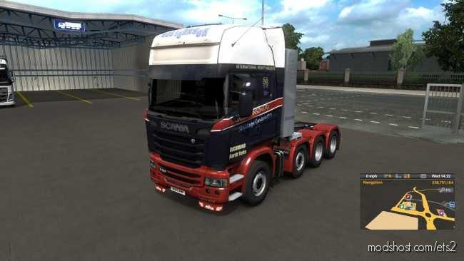 Scania GCS Pack for Euro Truck Simulator 2