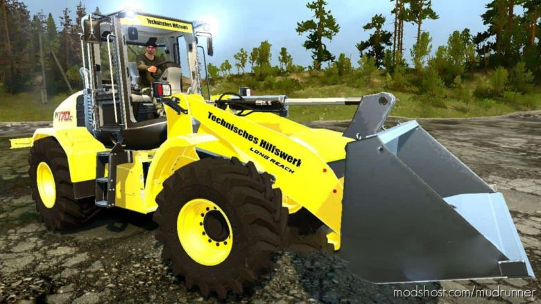 Holland W170C for MudRunner