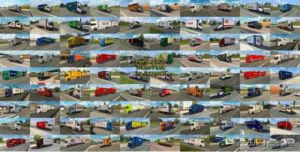 Painted BDF Traffic Pack By Jazzycat V7.1 for Euro Truck Simulator 2