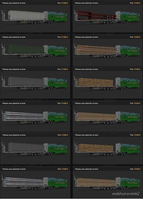 93-RP Mod Trailer HCT V0.04 for Euro Truck Simulator 2