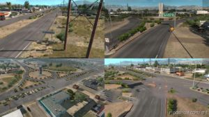LOS Barriles & Puerto SAN Carlos V2.01 Map for American Truck Simulator