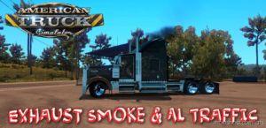 Exhaust Smoke & AI Traffic [1.36] for American Truck Simulator
