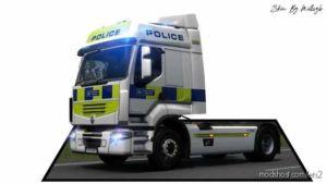 Police Renault Premium Skin for Euro Truck Simulator 2