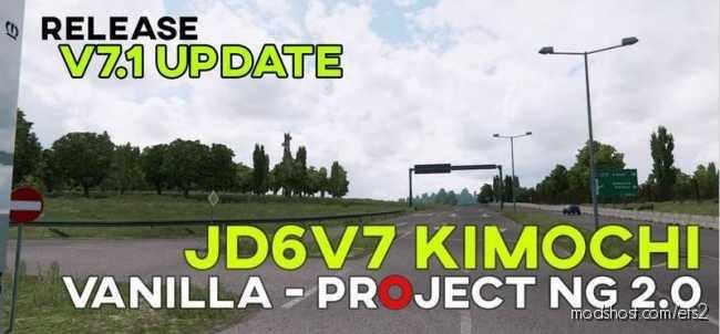 Johndoe Sickx – Reshade V7.1 AKA Kimochi [1.36.X] for Euro Truck Simulator 2