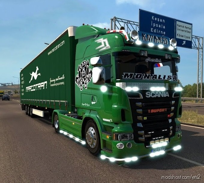 Scania R500 4×2 [1.36.X] for Euro Truck Simulator 2