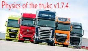 Truck Physics By MR. Virus V1.7.4 [1.36.X] for Euro Truck Simulator 2