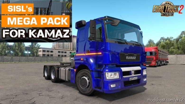 Kamaz 5490 NEO/65206 Sisl's Addons (1.36.X) for Euro Truck Simulator 2