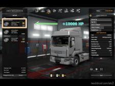 +10000 HP for Euro Truck Simulator 2