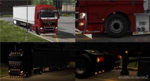 MAN TGX LED Lights [1.36.X] for Euro Truck Simulator 2