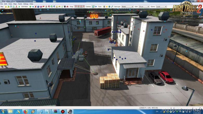 Real Hard Parking V0.6B -FIX- [1.36.X] for Euro Truck Simulator 2