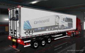 Skin Pack DE Reboques TSM By Tsmachado Cordenonsi [1.36] for Euro Truck Simulator 2