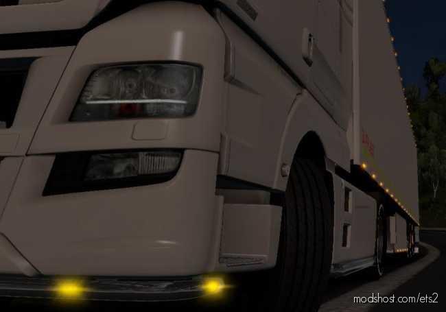 Colors Light LED [1.36.X] for Euro Truck Simulator 2
