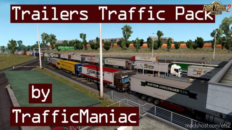Trailers In Traffic Pack V3.6 By Trafficmaniac [1.36.X] for Euro Truck Simulator 2