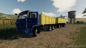 Kamaz 45143-6012 V1.3 for Farming Simulator 2019