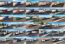 Painted Truck Traffic Pack By Jazzycat V3.4 for American Truck Simulator