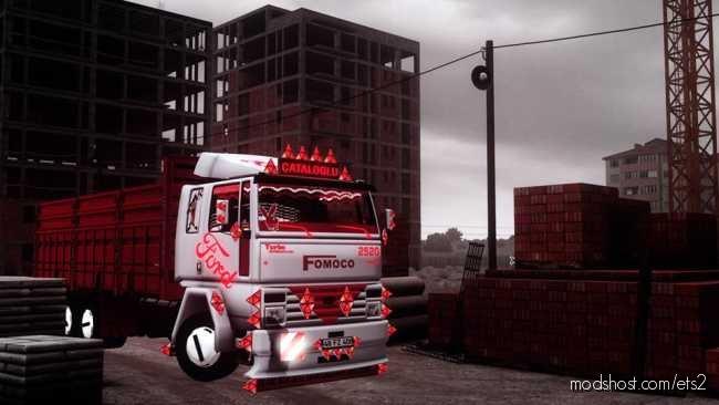 Ford Cargo 2520 [1.35 – 1.36] for Euro Truck Simulator 2