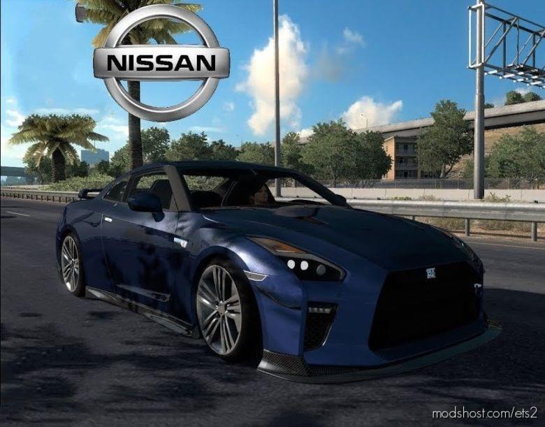Nissan GTR R35 V2.0 By Kadiryagiz [1.36.X] for Euro Truck Simulator 2
