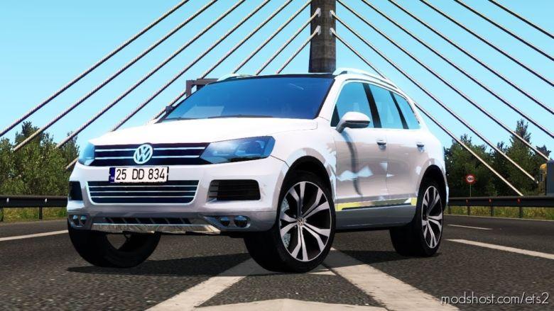 VW Touareg + Interior (1.36.X) for Euro Truck Simulator 2