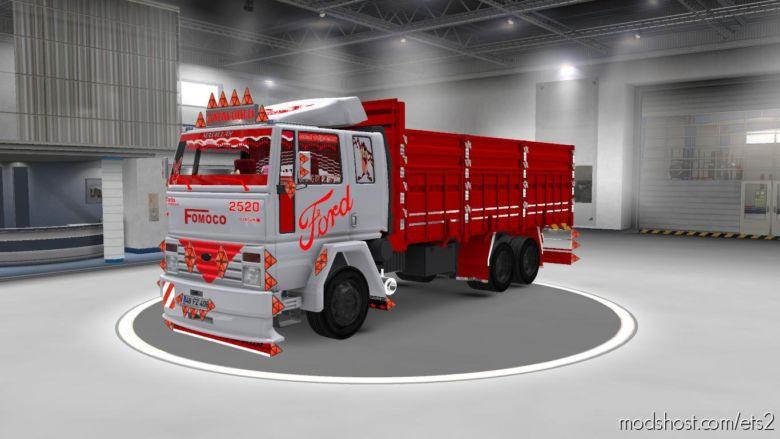 Ford Cargo 2520 [1.35 – [1.36] ] for Euro Truck Simulator 2