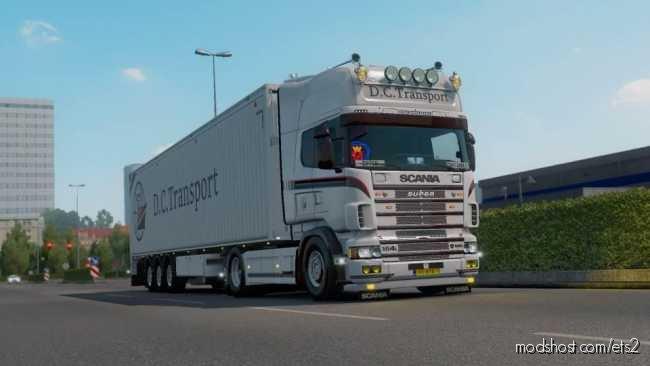 Scania R4 Dutch Container Transport Skin for Euro Truck Simulator 2
