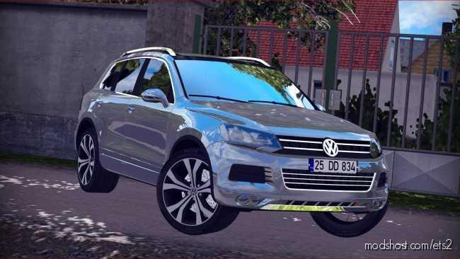 Volkswagen Touareg [1.36.X] for Euro Truck Simulator 2