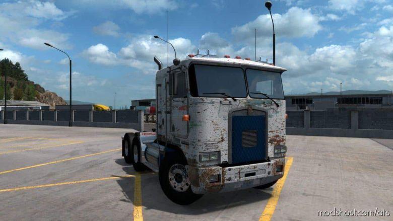 K100-E Rekt Paint Truck Skin for American Truck Simulator
