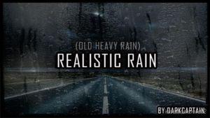 Realistic Rain V3.2 for Euro Truck Simulator 2
