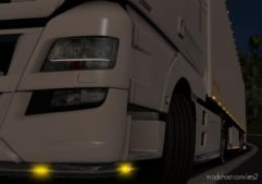 Yellow LED Lights [1.36.X] for Euro Truck Simulator 2