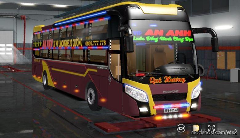 BUS Hyundai Thacomobihome2018 for Euro Truck Simulator 2