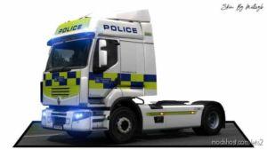 Police Renault Premium Skin V1.1 for Euro Truck Simulator 2